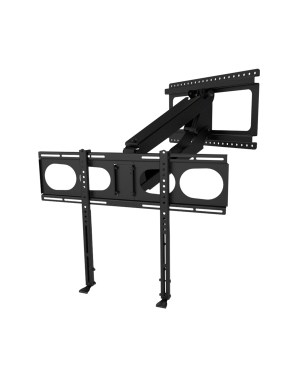 MantelMount - Pull Down TV Mount w/Full Motion for 44+ Inch Flat Screen TV's