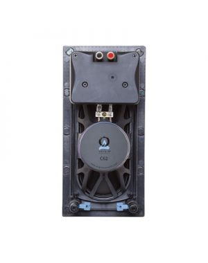 Origin Acoustics - Composer In-Wall Speaker, 4x8inch Polypropylene Woofer and Pivoting Tweeter