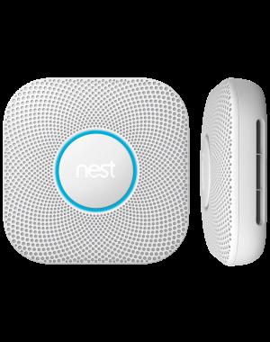 Nest Labs - Nest Protect 2nd Generation - Line Volt - White